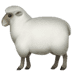 🐑 ewe Emoji on Apple Platform