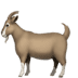 🐐 goat Emoji on Apple Platform
