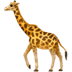 🦒 giraffe Emoji on Apple Platform