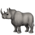 🦏 rhinoceros Emoji on Apple Platform