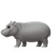 🦛 hippopotamus Emoji on Apple Platform