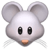 🐭 mouse face Emoji on Apple Platform