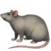 🐀 rat Emoji on Apple Platform