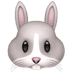 🐰 rabbit face Emoji on Apple Platform