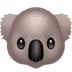 🐨 koala Emoji on Apple Platform