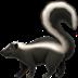 🦨 skunk Emoji on Apple Platform