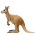 🦘 kangaroo Emoji on Apple Platform