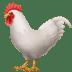 🐓 rooster Emoji on Apple Platform