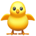 🐥 front-facing baby chick Emoji on Apple Platform