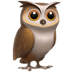 🦉 owl Emoji on Apple Platform