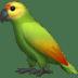 🦜 parrot Emoji on Apple Platform