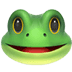 🐸 frog Emoji on Apple Platform