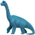 🦕 sauropod Emoji on Apple Platform