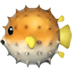 🐡 blowfish Emoji on Apple Platform