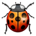 🐞 lady beetle Emoji on Apple Platform