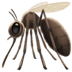 🦟 Mosquito Emoji on Apple Platform