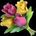 💐 Karangan Bunga Emoji pada Platform Apple