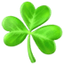 ☘️ shamrock Emoji on Apple Platform
