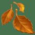 🍂 fallen leaf Emoji on Apple Platform