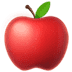 🍎 red apple Emoji on Apple Platform