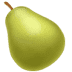 🍐 pear Emoji on Apple Platform