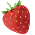 🍓 strawberry Emoji on Apple Platform