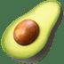 🥑 avocado Emoji on Apple Platform