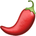 🌶️ Hot Pepper Emoji on Apple Platform
