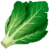 🥬 leafy green Emoji on Apple Platform