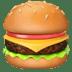 🍔 Hamburger Emoji on Apple Platform