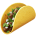 🌮 taco Emoji on Apple Platform