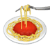 🍝 spaghetti Emoji on Apple Platform