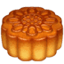 🥮 moon cake Emoji on Apple Platform