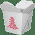 🥡 takeout box Emoji on Apple Platform