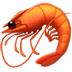 🦐 shrimp Emoji on Apple Platform