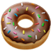 🍩 doughnut Emoji on Apple Platform
