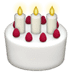 🎂 Birthday Cake Emoji sa Apple Platform
