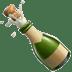 🍾 bottle with popping cork Emoji on Apple Platform