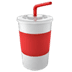 🥤 cup with straw Emoji on Apple Platform