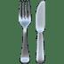 🍴 Fork and Knife Emoji on Apple Platform