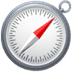 🧭 compass Emoji on Apple Platform