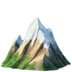 🏔️ snow-capped mountain Emoji on Apple Platform