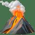 🌋 volcano Emoji on Apple Platform