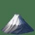 🗻 mount fuji Emoji on Apple Platform