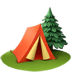 🏕️ camping Emoji on Apple Platform