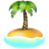 🏝️ desert island Emoji on Apple Platform