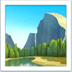 🏞️ national park Emoji on Apple Platform