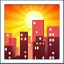 🌇 sunset Emoji on Apple Platform
