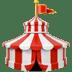 🎪 circus tent Emoji on Apple Platform