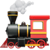🚂 locomotive Emoji on Apple Platform